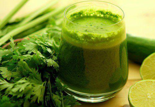 zumo verde para adelgazar