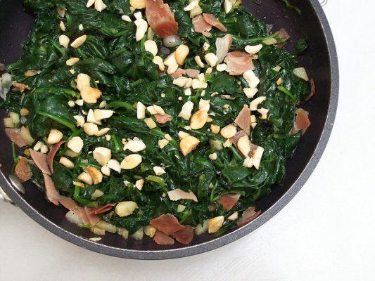Espinacas, Judías y Lechugas, recetas caseras para bajar de peso
