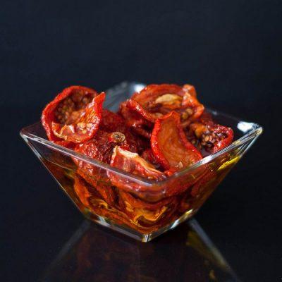 Composición y disecado del tomate