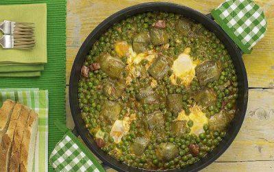 Lombarda, tirabeques y coliflor, recetas sanas para adelgazar