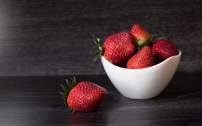 Fresas, una comida sana para tener vitaldiad