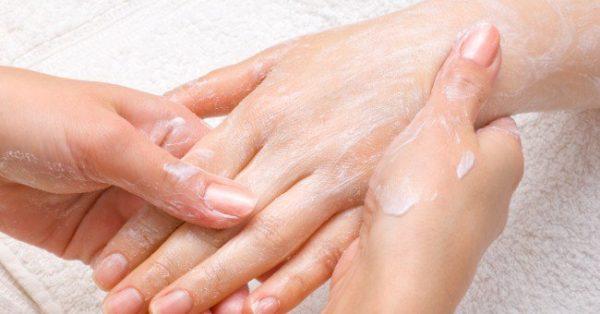 Tratamiento para las manos rojas