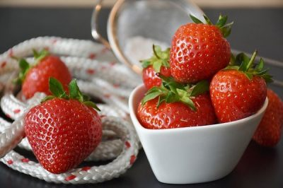 Fresas y Naranjas recetas sanas para adelgazar