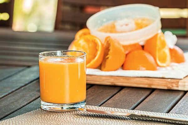 Propiedades del zumo de frutas