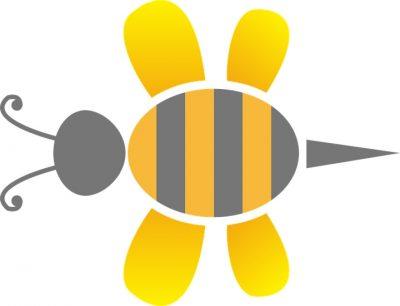La abeja reina es la que pone los huevos en el panal
