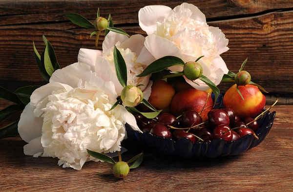 Propiedades de la castaña, cereza, ciruela, ciruela pasa, frambuesa y fresa