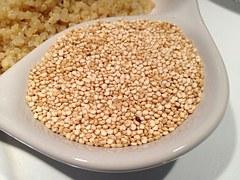 La quinoa es rica en vitaminas