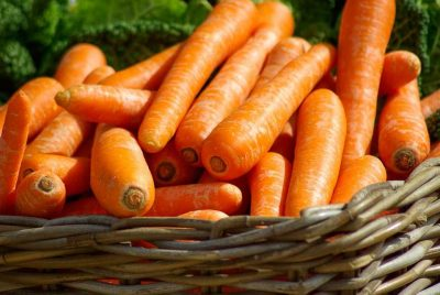 La zanahoria es muy sana