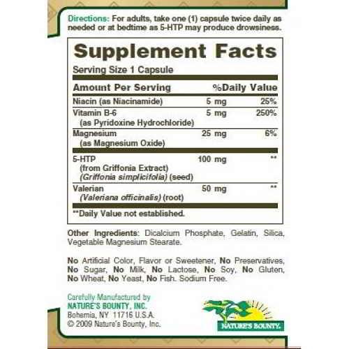 Efectos secundarios del 5-HTP