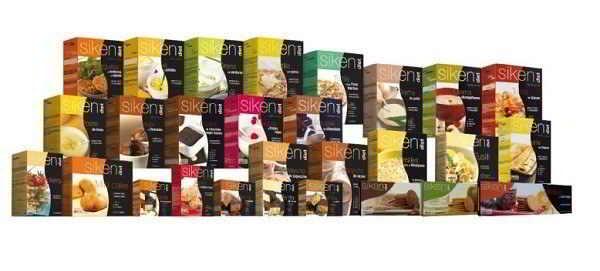 Dietas proteicas, productos Siken Form