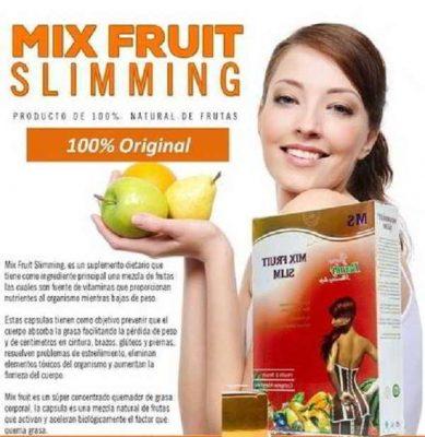 Mix Fruit Slimming y sus efectos secundarios