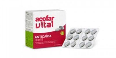acofarvital, comprimidos anticaída