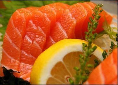 Receta saludable de salmón