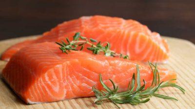 Salmón en la dieta