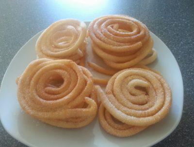 Receta de churros con harina de avena