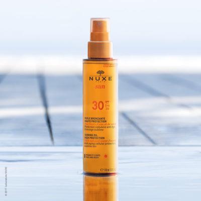 Nuxe Sun aceite bronceador rostro y cuerpo spray SPF30+ 150ml